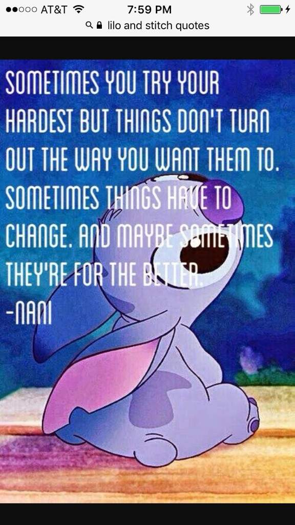 Nani Quote Disney Amino
