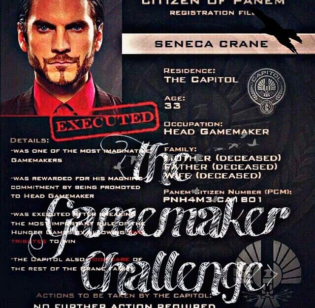The Gamemaker Challenge The Hunger Games Amino