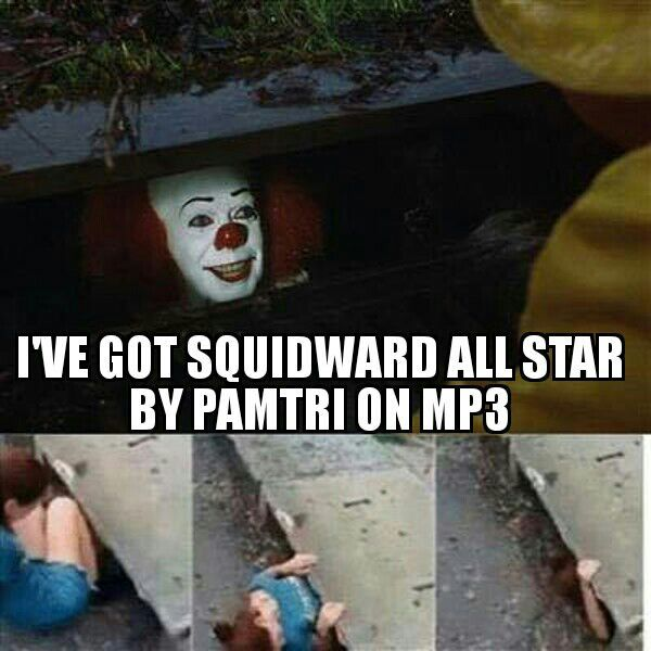Squidward-All Star [Pamtri] mp3 | pamtri Amino