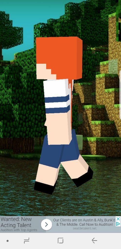Osana Minecraft skin | Yandere Simulator Amino