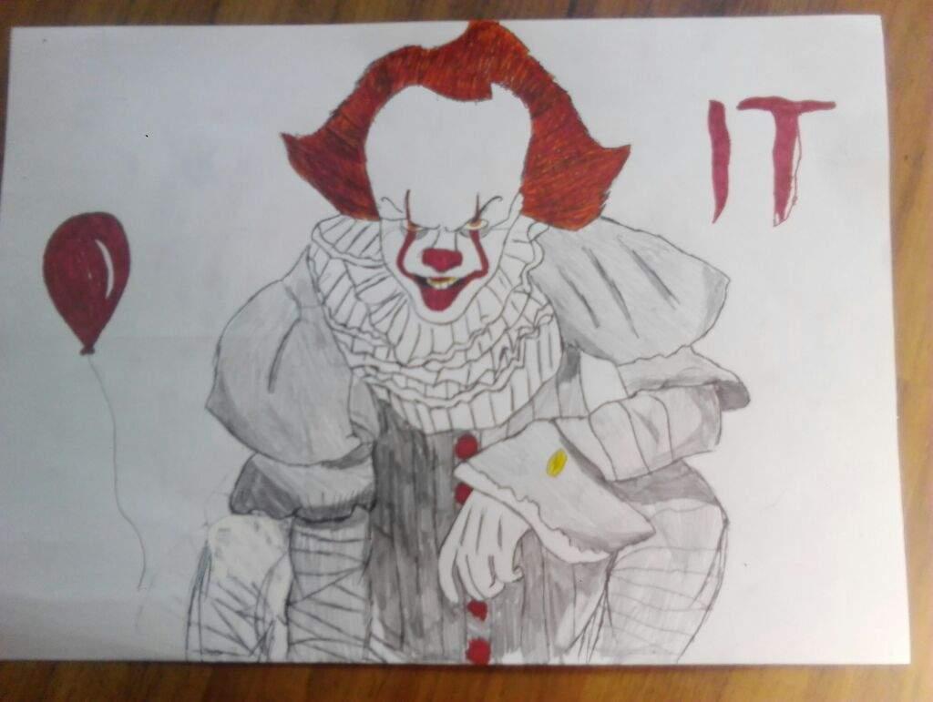 My Dibujo De It O Pennywise Terror Amino