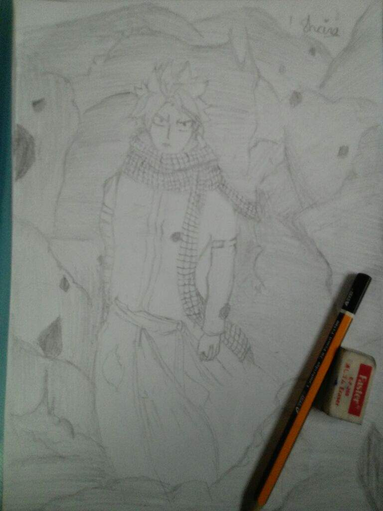 Drawing of natsu dragneel... | Anime Amino