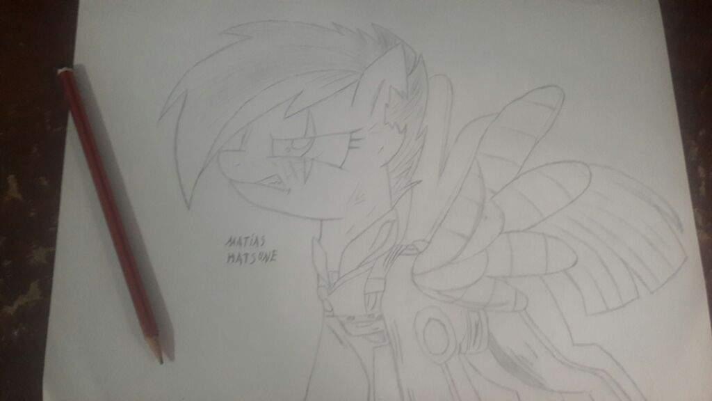 Mi Primer Dibujo De Un Pony A Lapiz My Little Pony