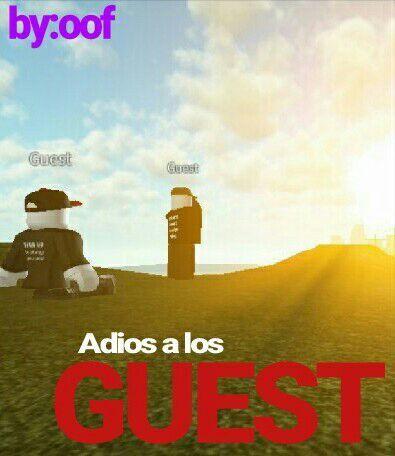 Adios A Los Guests Roblox Amino En Español Amino - solipopi roblox amino en espa#U00f1ol amino