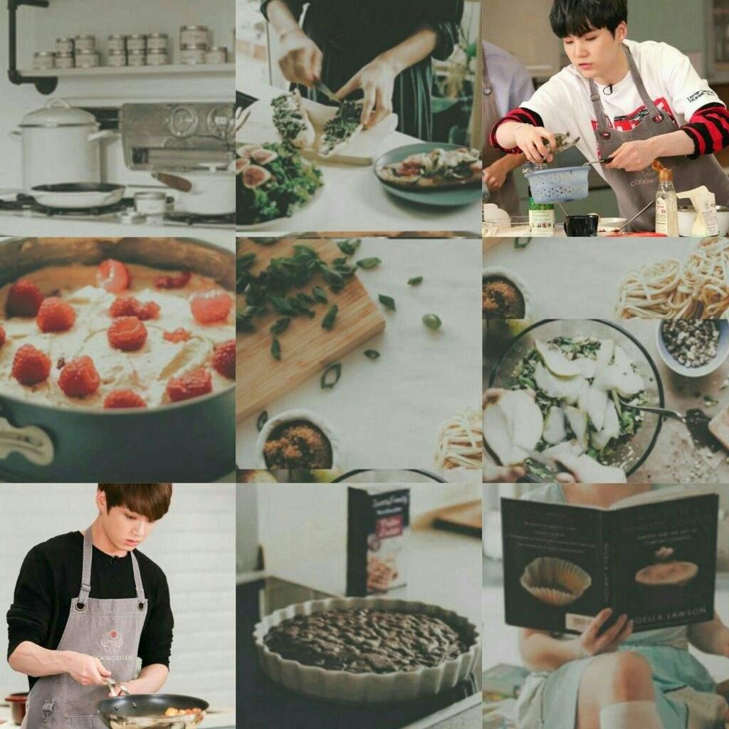 Yoonkook Aesthetic Cooking
