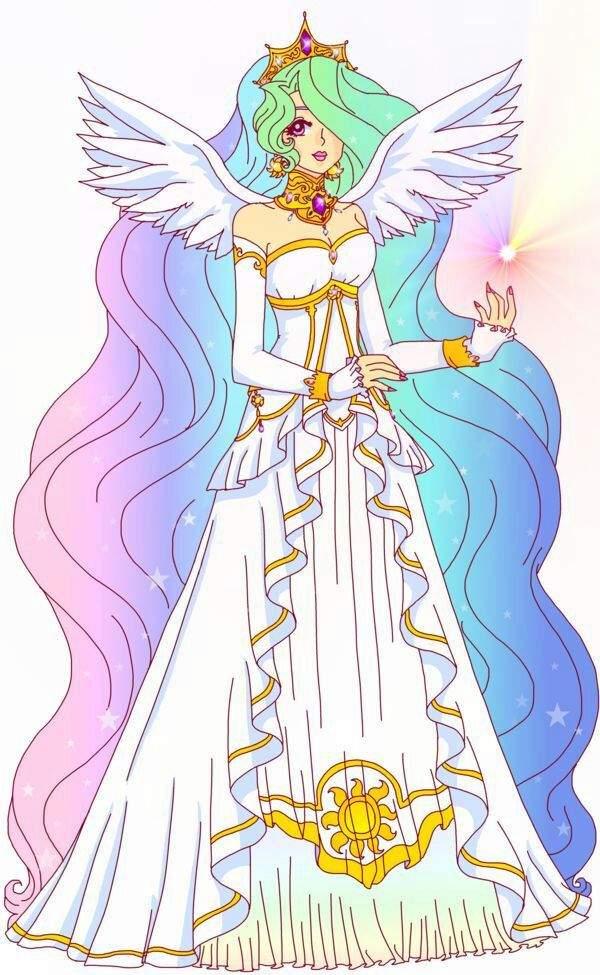 Картинки Принцессы Селестии И Луны И Каденс И Твайлайт