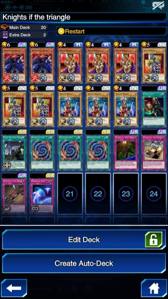 Arcana knight joker deck/deck ideas | Yu-Gi-Oh! Duel Links