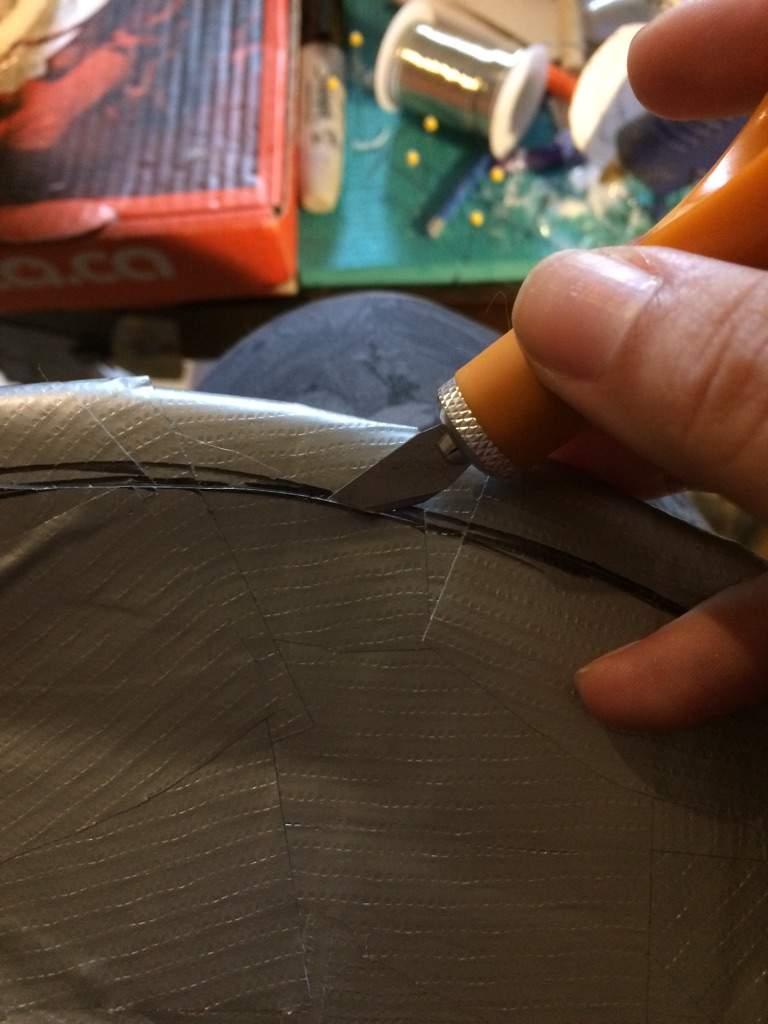 Cutting the tape. | Furry Amino