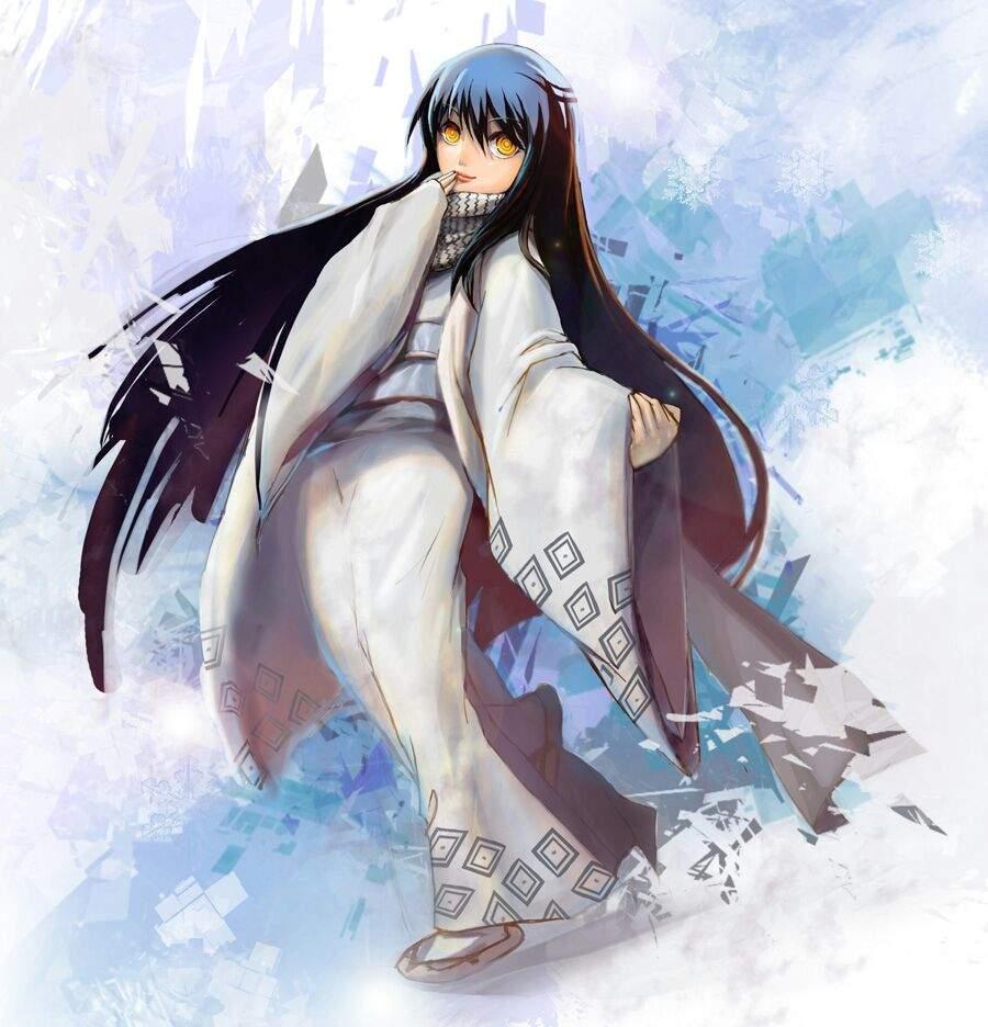 Youkailyoko Yuki Onna Cartoon Amino
