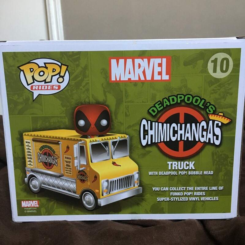 Deadpool S Chimichanga Truck Pop Toys Amino