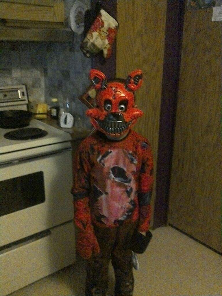 My Nightmare Foxy Halloween Costume Five Nights At Freddys Amino
