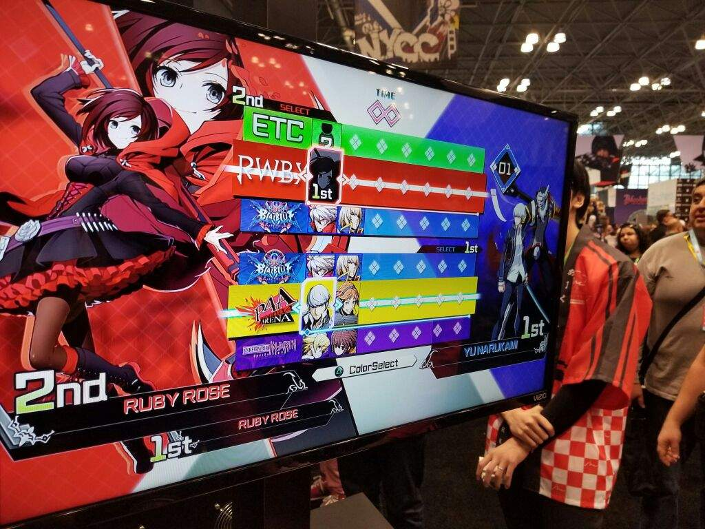Blazblue Cross Tag Battle: Examining Character Select | SMT