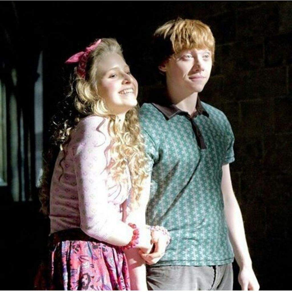 Ron's so cute we all know he should be with Hermione obviously but ...