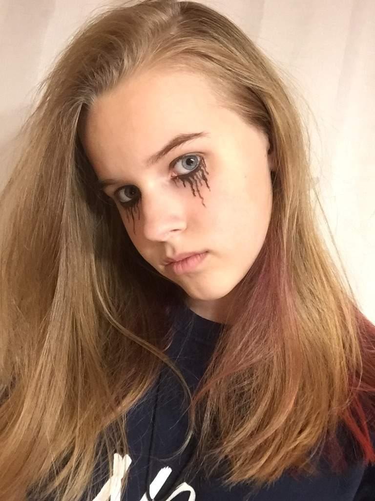 Crying/Broken Doll Makeup