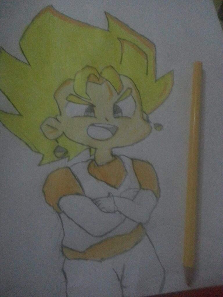 Proceso de dibujo: Vegito Chibi | •Anime• Amino