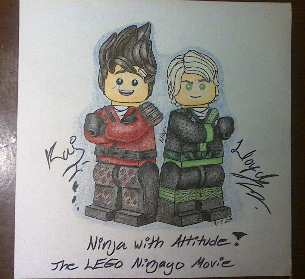 Ninjago Movie Lloyd And Kai Drawing Lego Ninjago Movie Amino