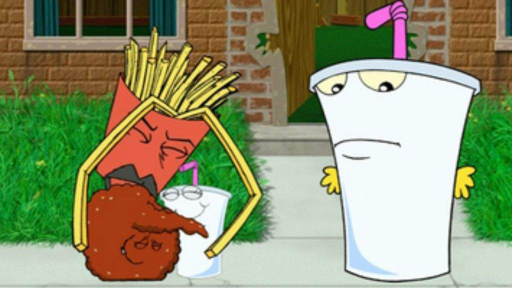 Thank for and if the aqua teen something
