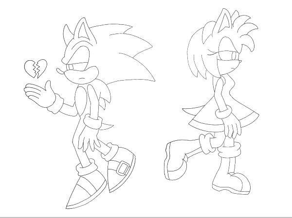 Vistoso Sonic The Hedgehog Para Colorear Amy Fotos - Ideas Para ...