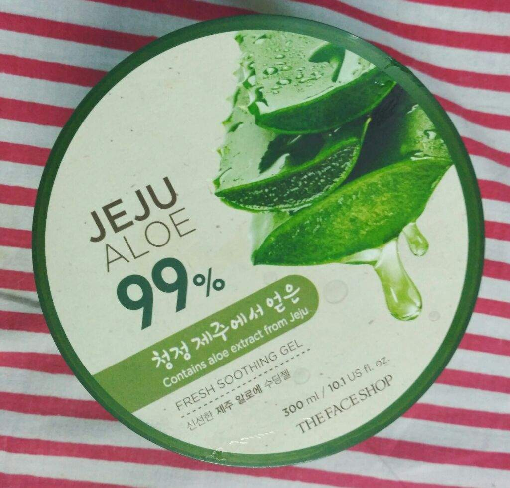 The Face Shop Aloe Gel Korean Beauty Amino K Jeju Fresh Vera Shooting Nature It Can Also Be Used As After Having A Sunburn Its Really Soothes And Have Cooling Effect On Skin