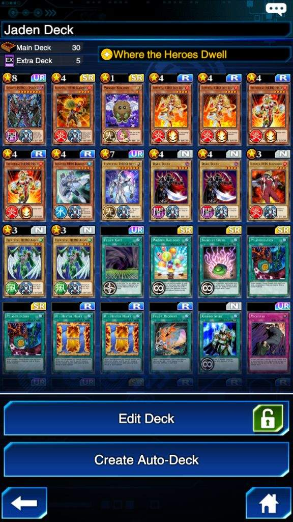 Jaden Deck Help | Yu-Gi-Oh! Duel Links! Amino