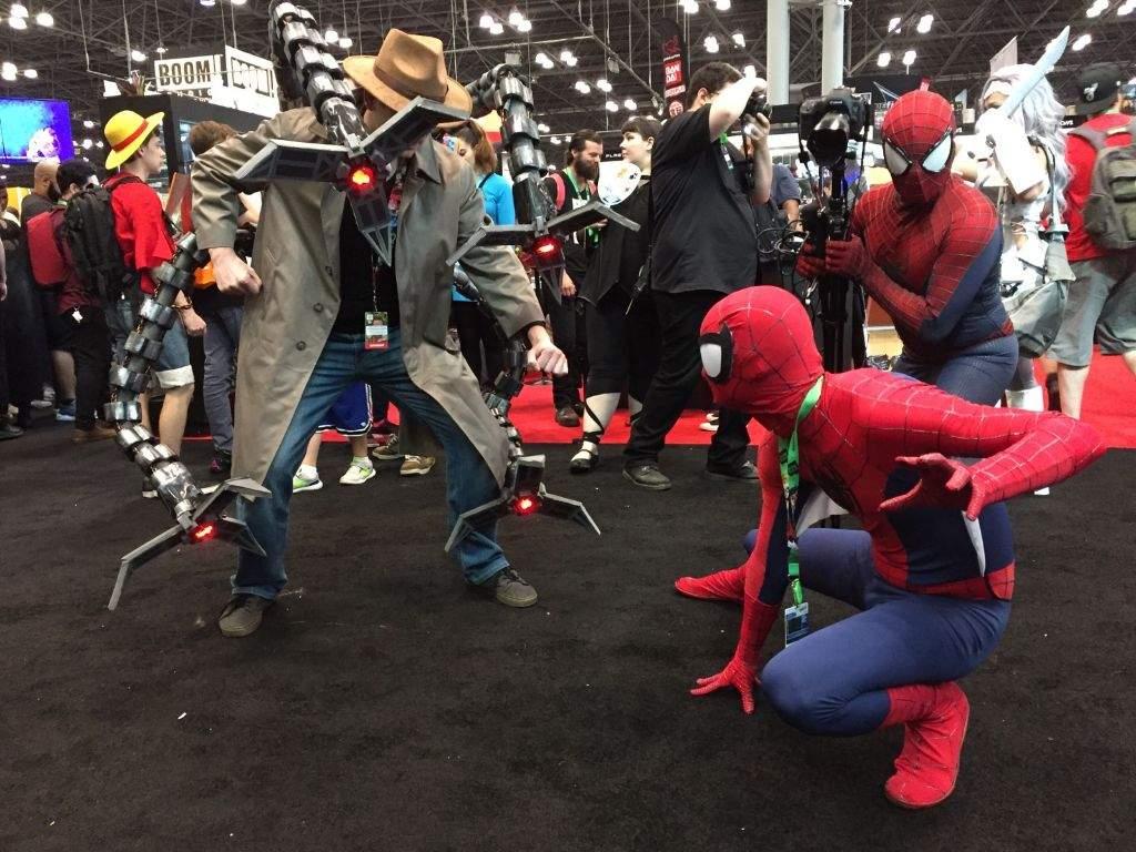Spider Man V Doc Ock Cosplay Amino