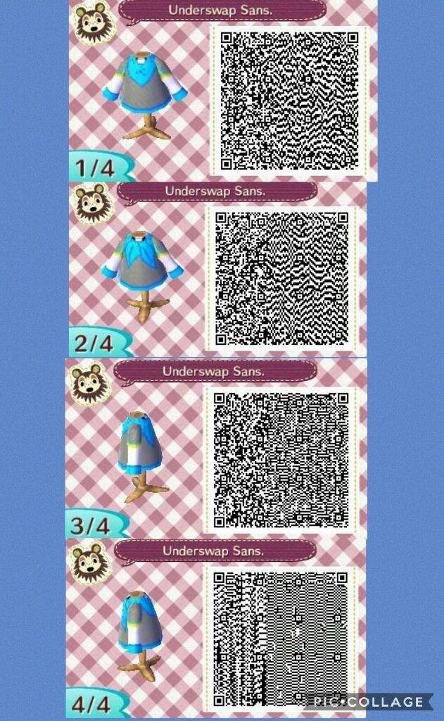 spesso Animal Crossing new Leaf Underswap Sans QR code | Undertale Amino ZJ47