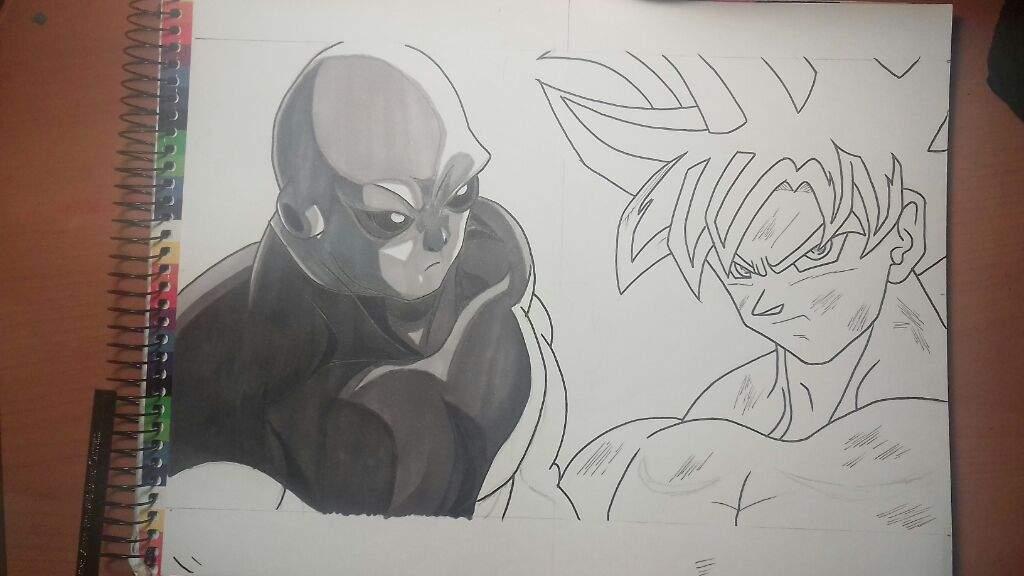Dibujo De Goku Migatte No Gokui Vs Jiren
