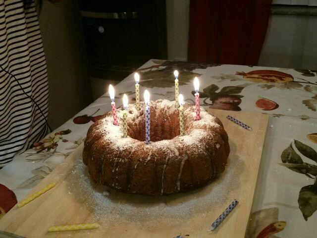 Pumpkin Birthday Bundt Cake Pumpkinspiceweekend Vegan Amino