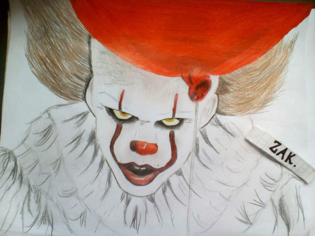 Dibujo De It El Payaso Dibujarte Amino