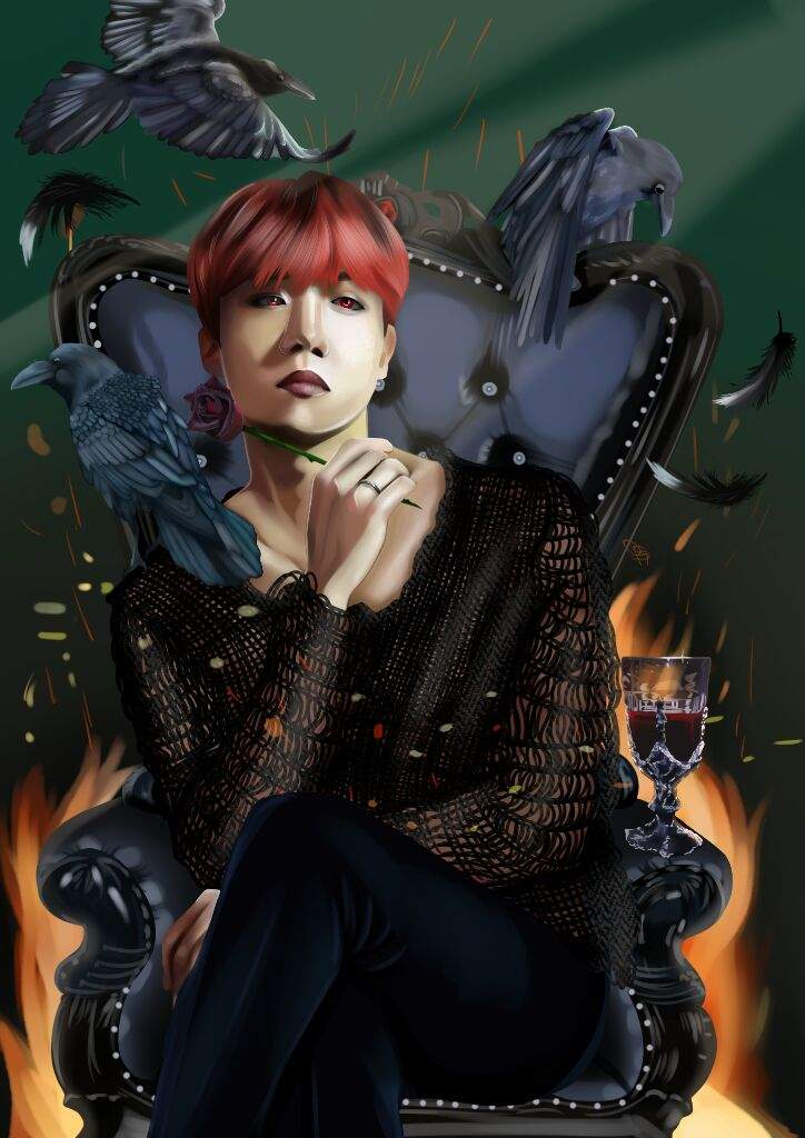 j hope dark prince pt 1 fa army s amino