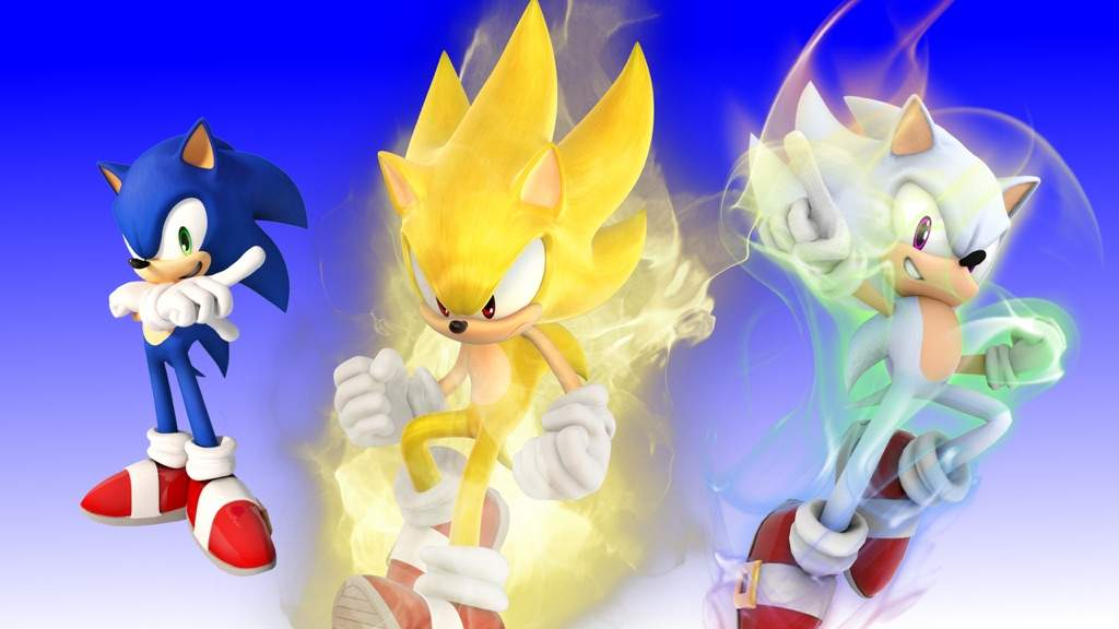 Super Forms Sonic And Shadow Sonic The Hedgehog Amino