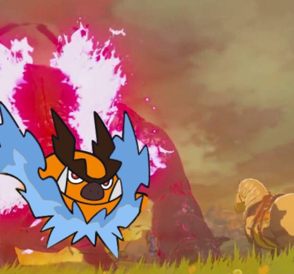 The Legend Of Zelda Breath Of The Wild Theme Team Pokemon
