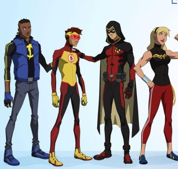 Young Justice Season 3 Character Bios