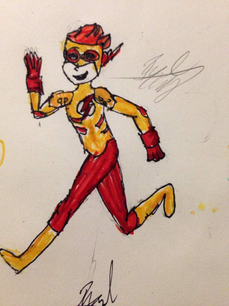 Kid Flash Drawing Young Justice Amino Amino
