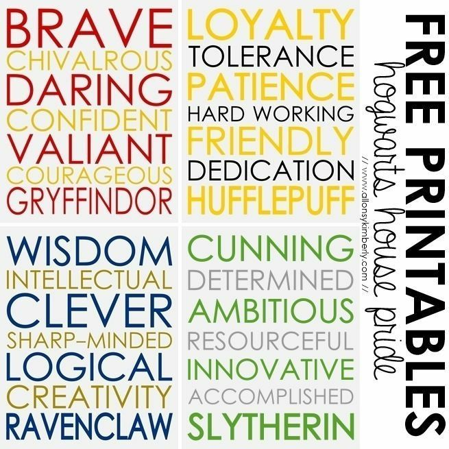 There Are Bad Sides Too Gryffindors Can Take Needless Dumb Risks Hufflepuffs Be Read As Naive Or Stupid Ravenclaws May Get Absorbed In Their