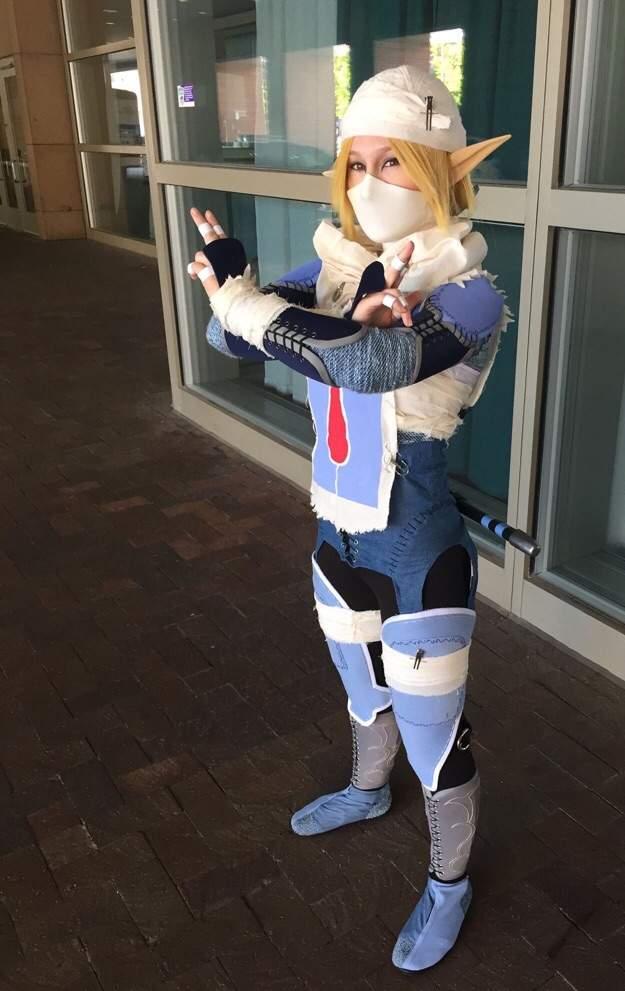 Sheik Legend Of Zelda Cosplay Amino
