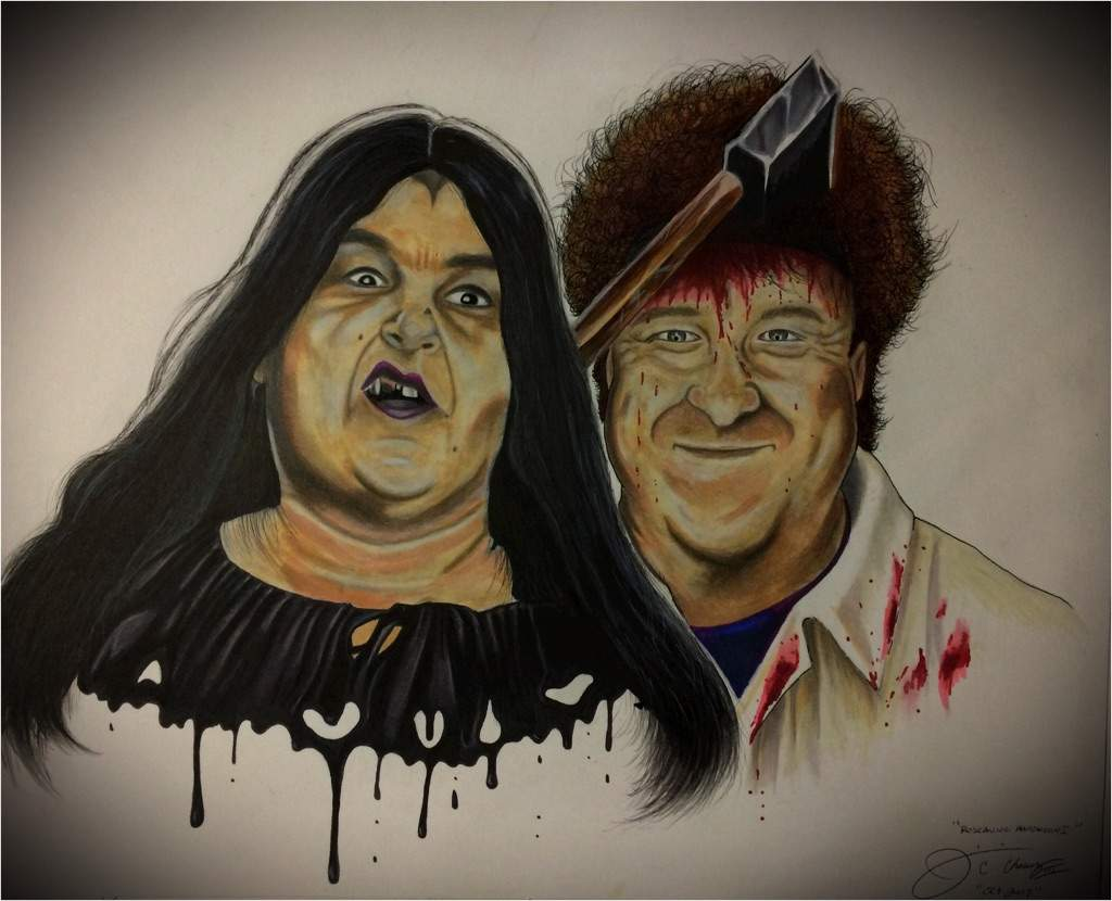 roseanne halloween art!!!!! | horror amino
