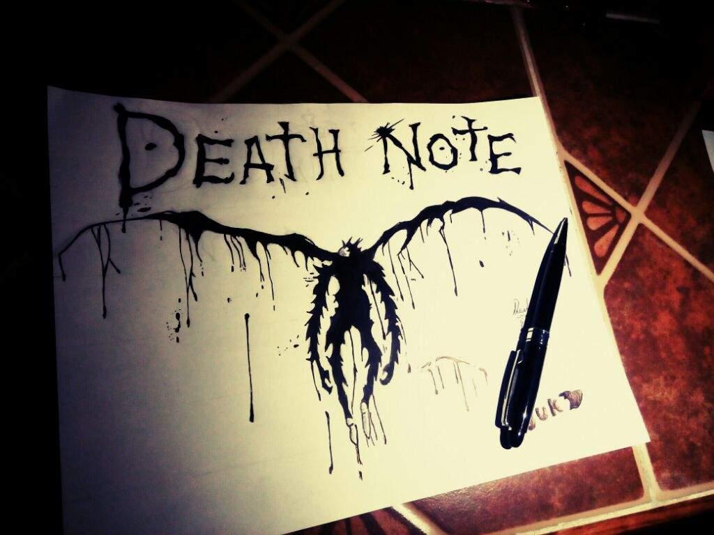 Death Note Dibujo Anime Amino