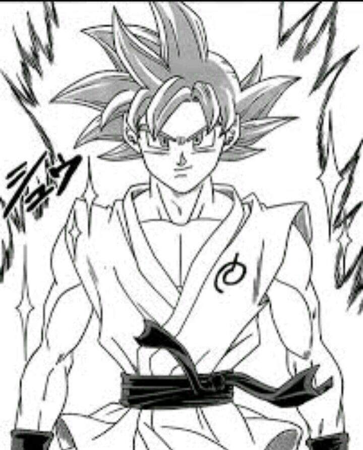 Excepcional Desenho Goku Super Saiajyn God | Dragon Ball Oficial™ Amino PR69