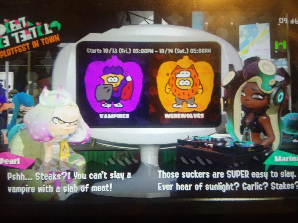 New Splatfest? And Pearl's Puns   Splatoon Amino