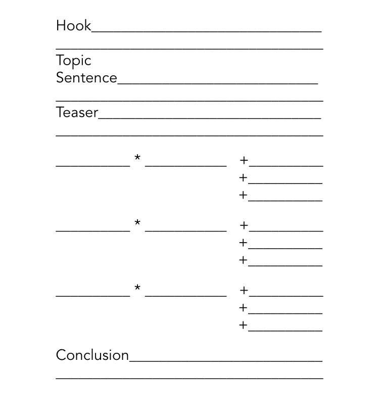 Literature organizer document sorter order form printable