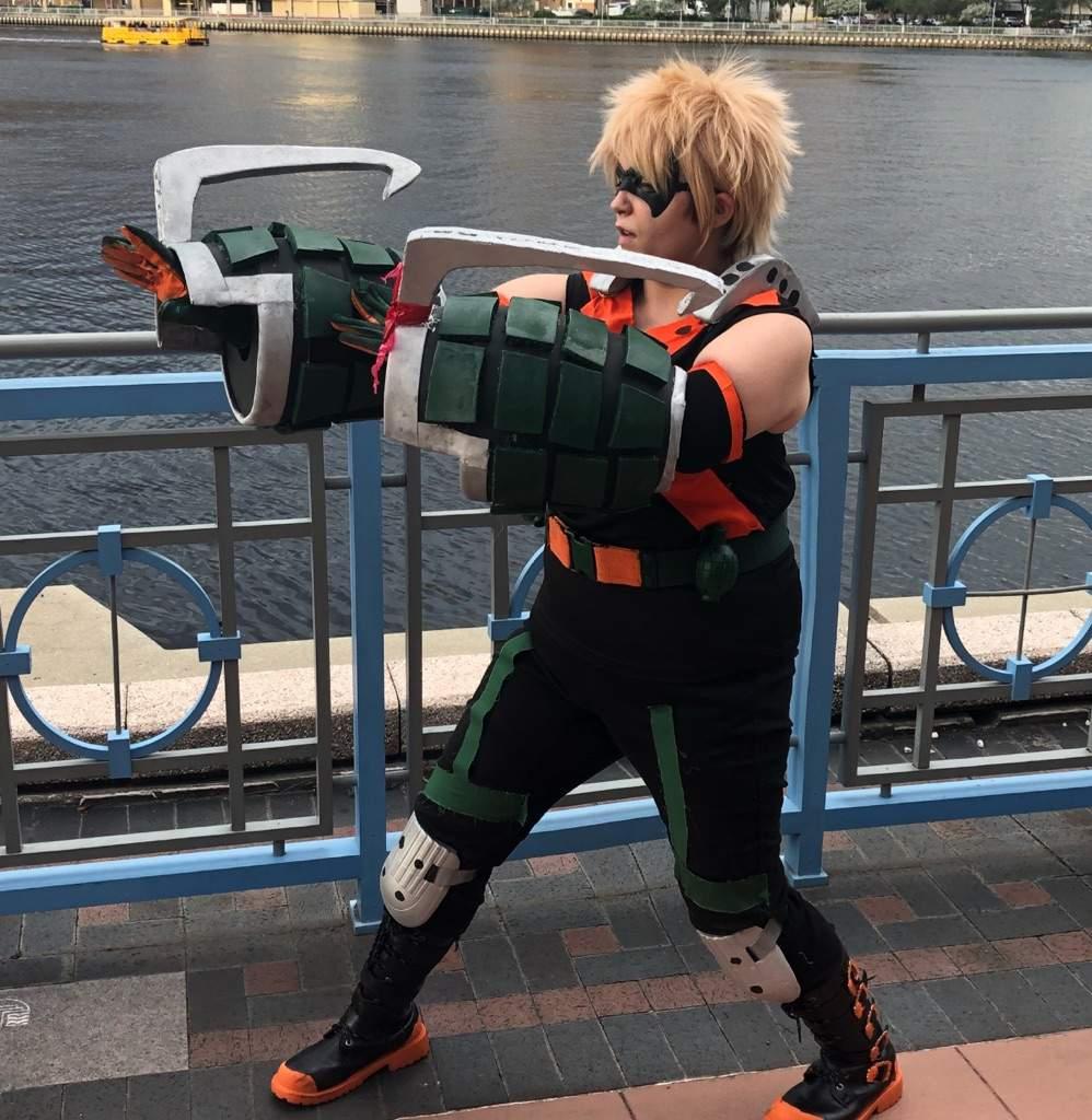 Bakugou Katsuki Hero suit | My Hero Academia Amino