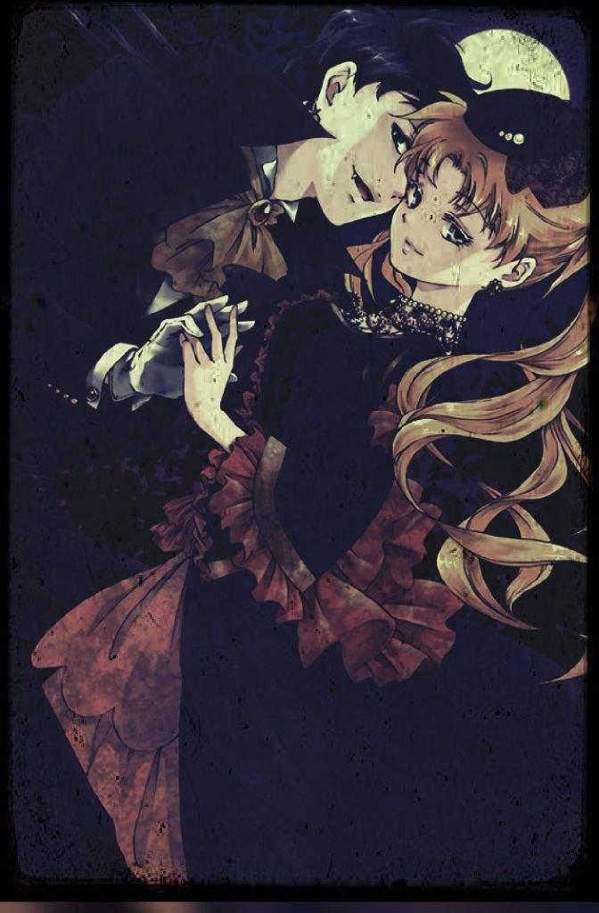 Seiya and Usagi Halloween Edit