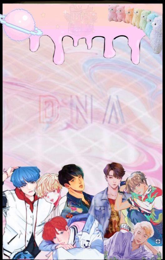 BTS Edits Pastel Kawaii Anime Edit