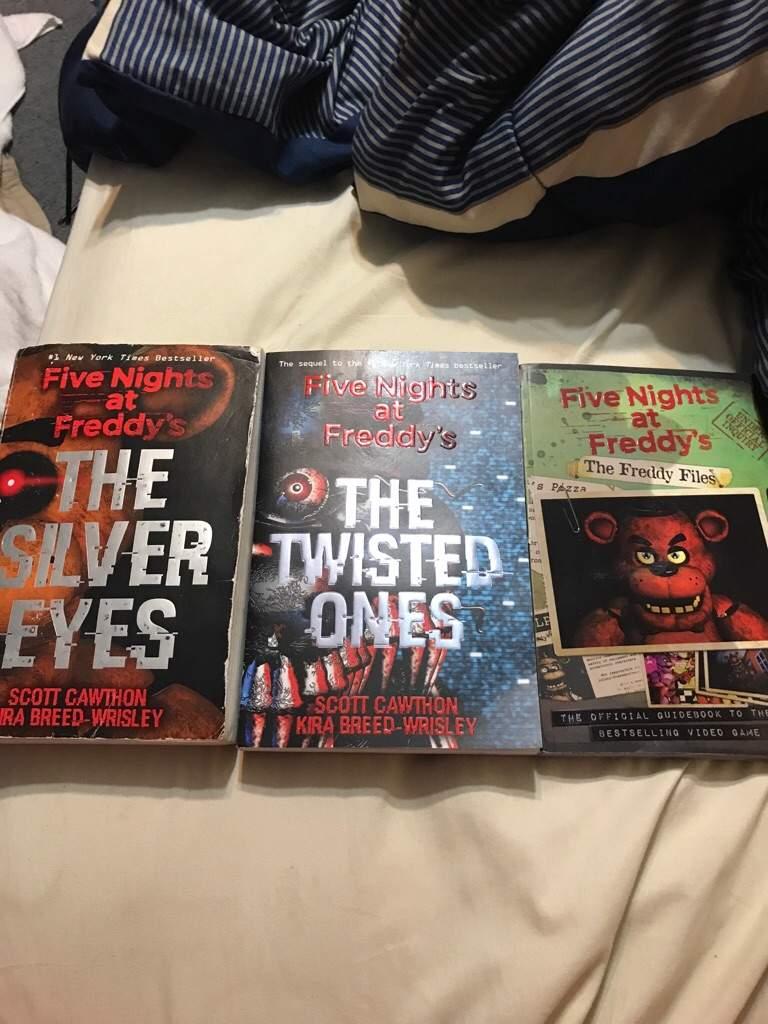 i have all 3 fnaf books