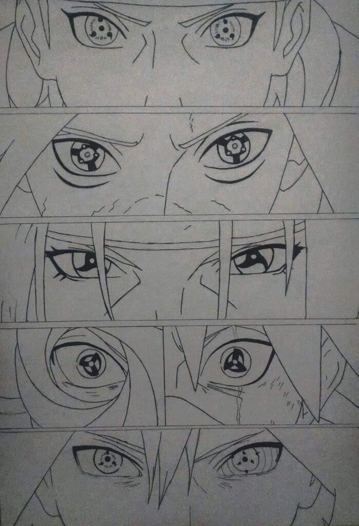 Uchihas Sharingan Desenhistas Do Amino Amino