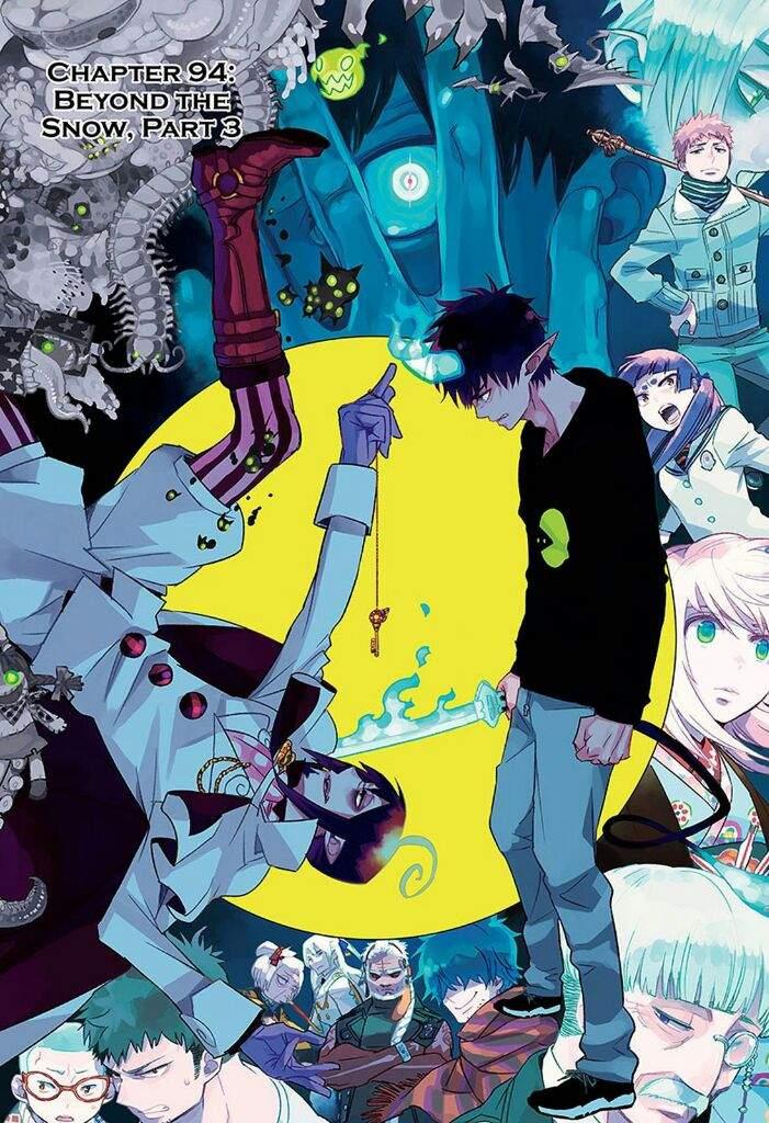 blue exorcist chapter 94 anime amino
