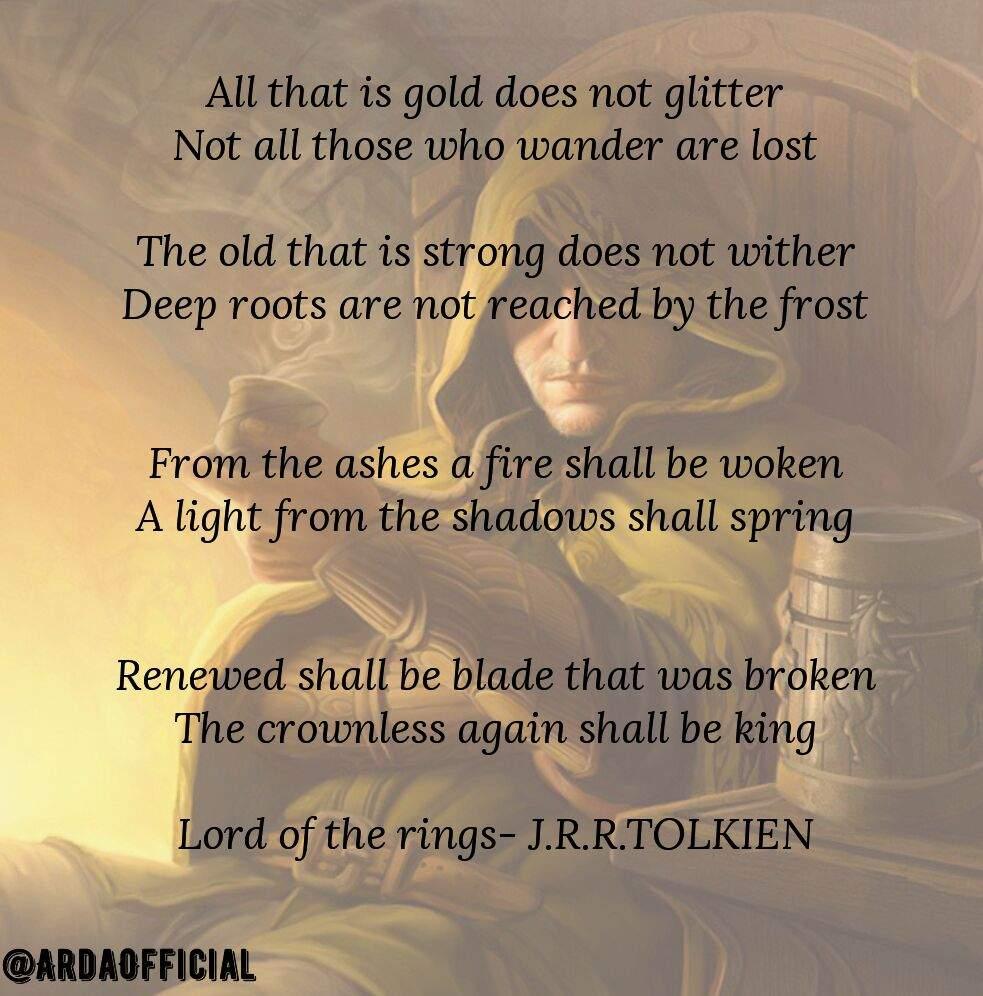 the wander poem