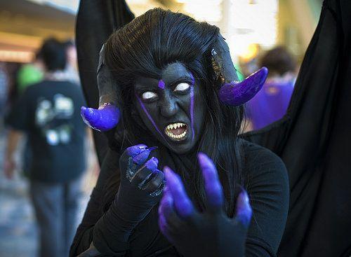 Warlock Demon Form | Cosplay Amino