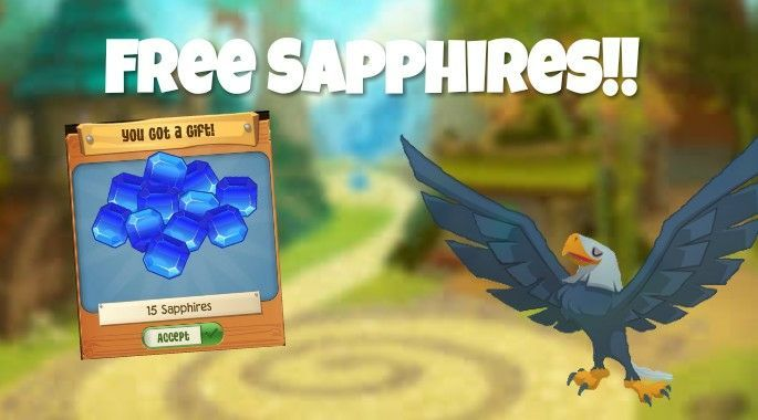 How to get FREE sapphires! (WORKING 2017) - Animal Jam Play